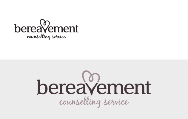 Bereavement Counselling Service logo design