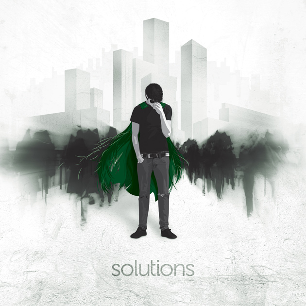 Solutions Before the Roars album artwork by Owen Jones Design