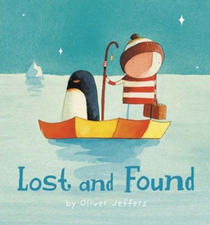 Lost and Found book cover by Oliver Jeffers