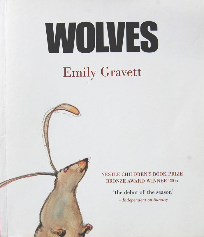 Wolves book cover by Emily Gravet