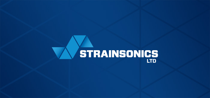 Strainsonics logo full colour