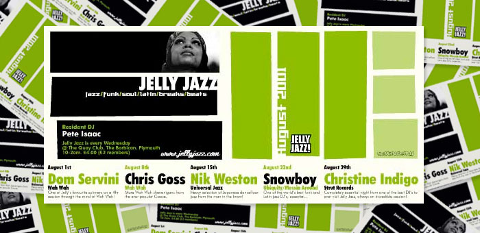 Jelly Jazz Saul Bass style