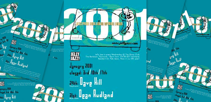 Jelly Jazz 2001 Decks