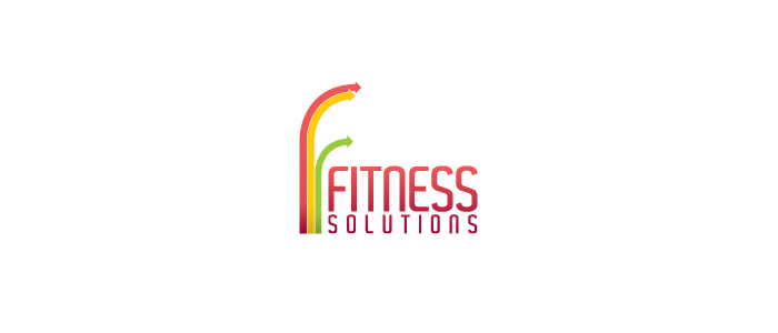 Fitness Solutions logo design