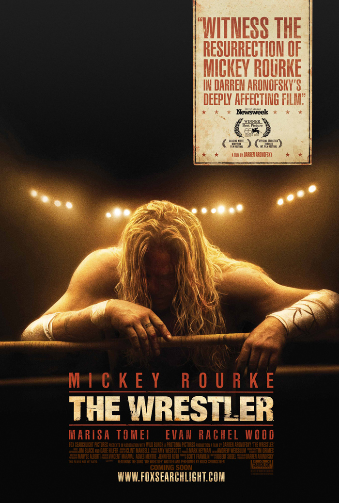 Movie poster The Wrestler