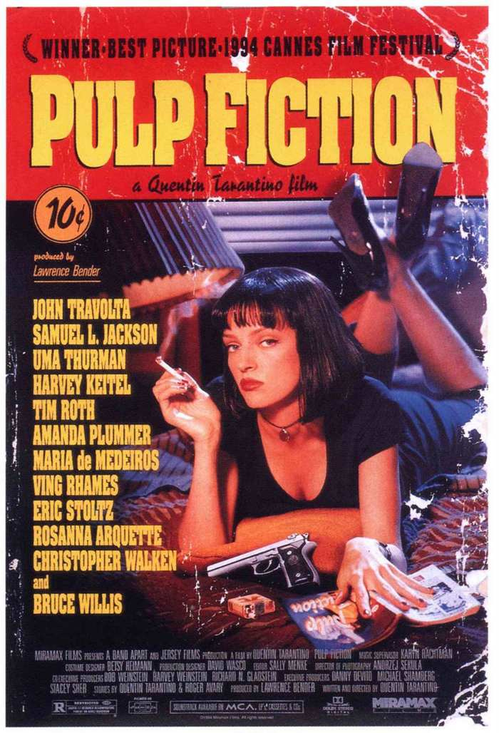 Movie poster Pulp Fiction