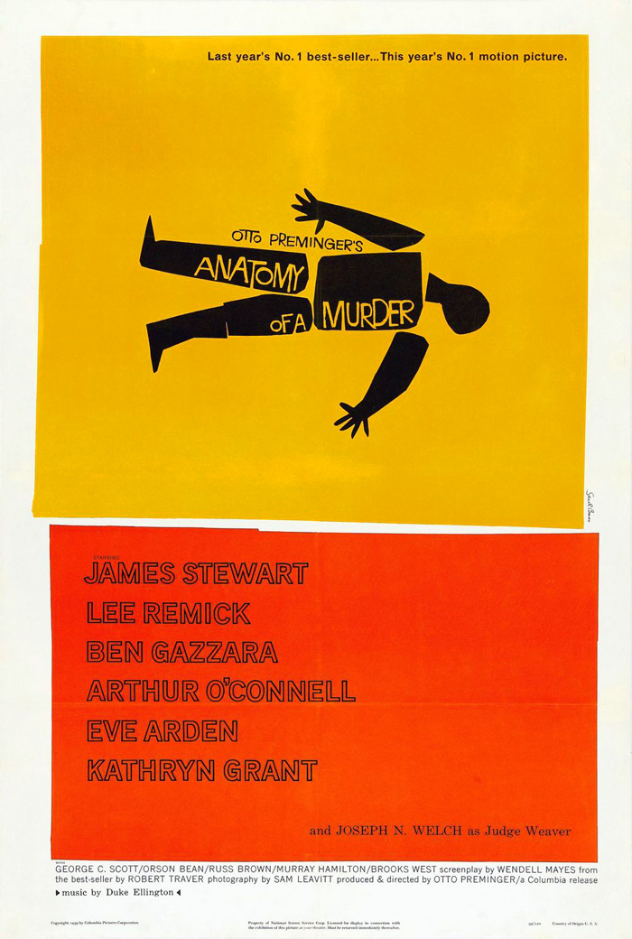 Movie poster Anatomy of a Murder
