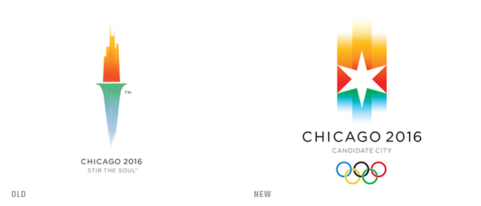Chicago 2016 Olympic applicant city logo