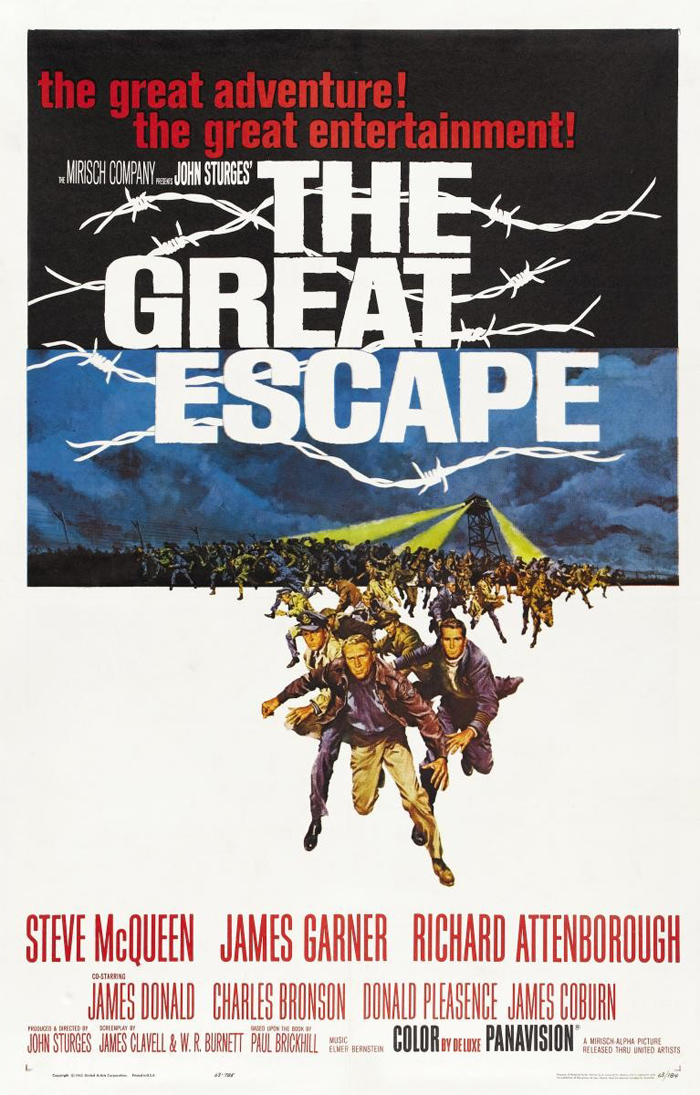 Movie poster The Great Escape