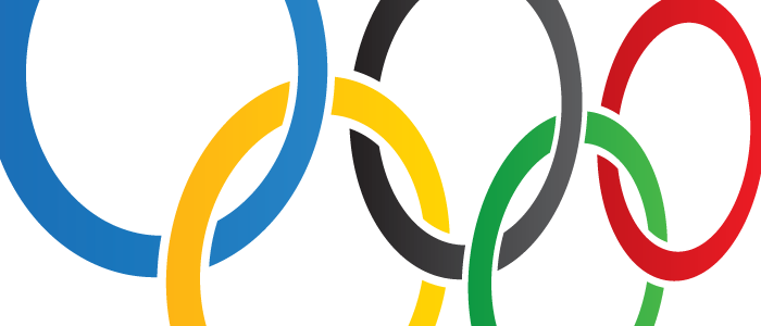 Olympic rings - logos header