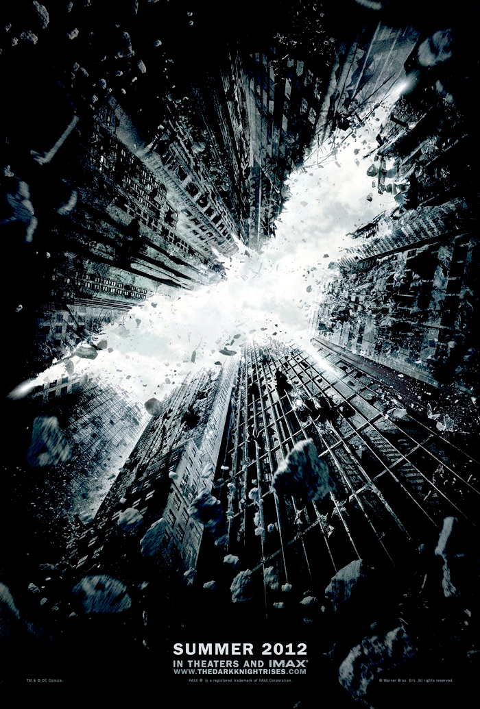 Dark Knight Rises - Batman teaser poster