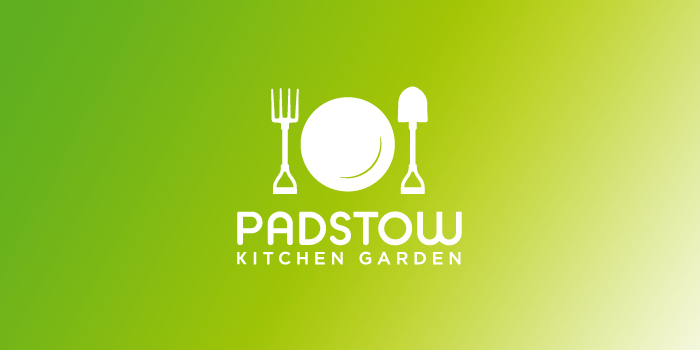 Padstow Kitchen Garden logo design