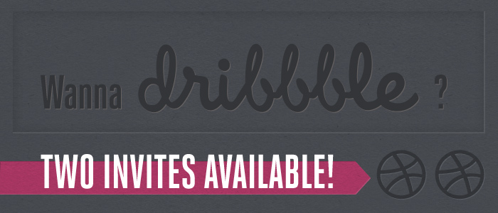 Dribbble invites available!