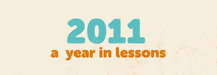 Year 2011 header image - lessons
