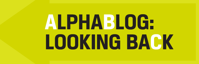 Alphablog header