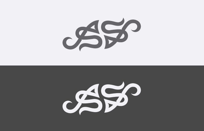 Monogram Tattoo double version