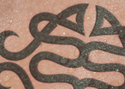 Tattoo monogram