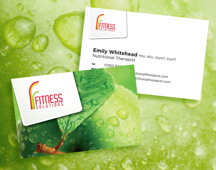 Fitness Solutions Nutrition Cards