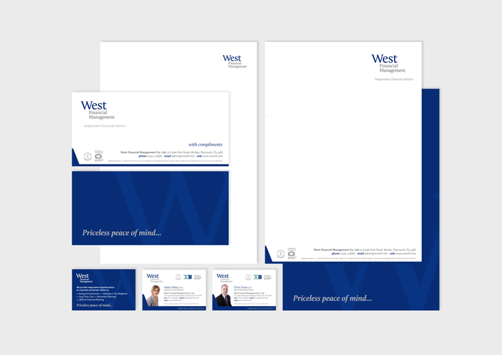 West Financial Management Co. Ltd. Stationery