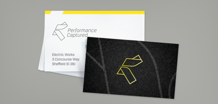 Performance Captured business cards