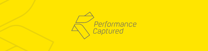 Performance Captured logo header