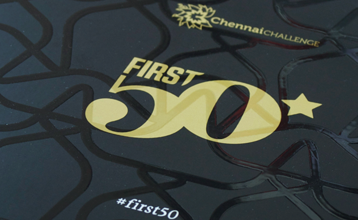 First50 Invitation detail