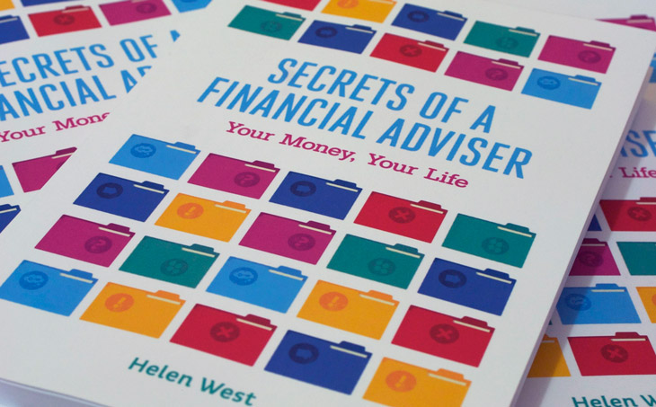 Secrets of a Financial Adviser book covers