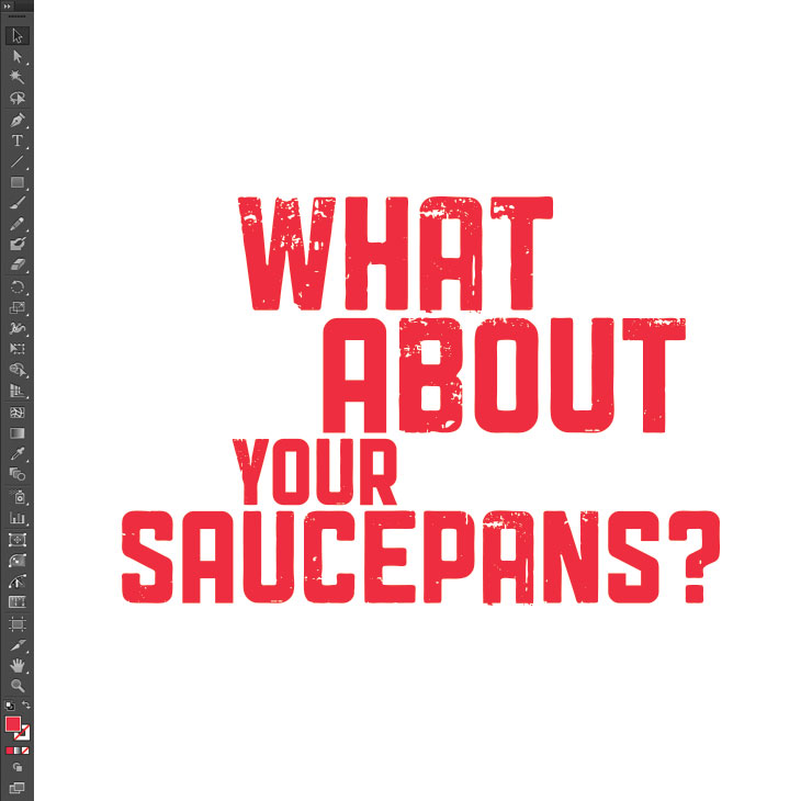 What About Your Saucepans title type