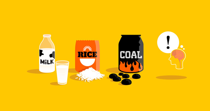 Commodities – milk, rice, coal, ideas?